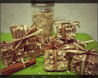 Honey Oatmeal Cinnamon Soap
