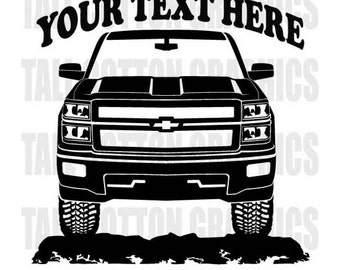 Z Decal Etsy - Chevy silverado sticker