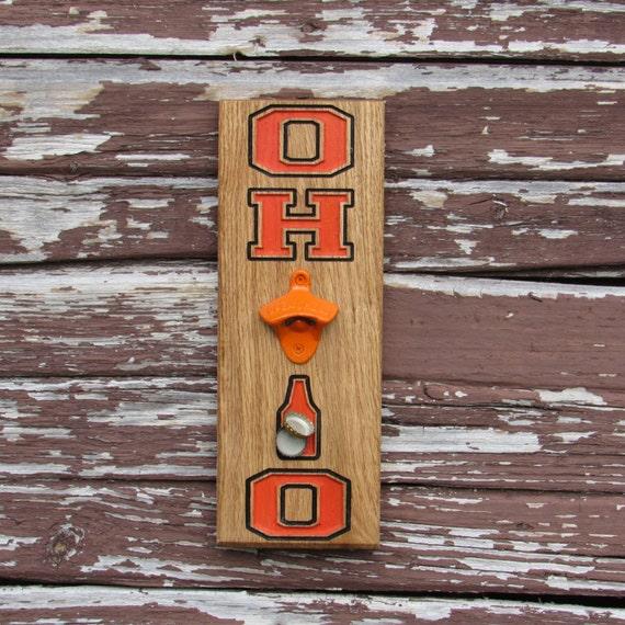 bottle opener magnet cap catch cincinnati bengals ohio. Black Bedroom Furniture Sets. Home Design Ideas