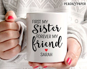 Personalized Sister Gift for Sister Christmas Gift For Sister Mug Stepsister Sister Coffee Mug Sister Birthday Gift For Sister Wedding Gift