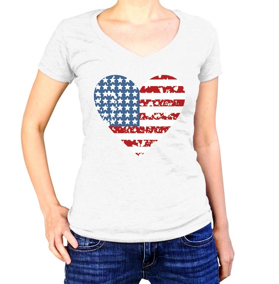 4th Of July Shirt Women Fourth Of July Tshirt Patriotic By