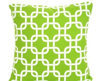 Decorative Throw Pillow Covers, Green Pillows, Cushion Covers, Throw Pillow, Couch Pillows, Decorative Pillow, Gotcha, One or More All Sizes
