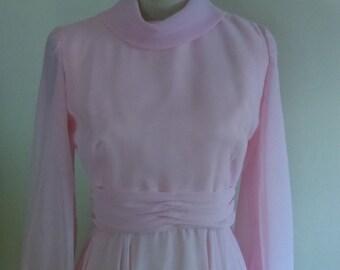 Vintage Pale Pink Dress.