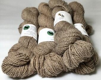 Alpaca Yarn, Finger Weight, Light Rose Gray