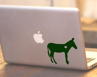 SUMMER SALE! Donkey decal Car Laptop Vinyl Decal Sticker donkey sticker