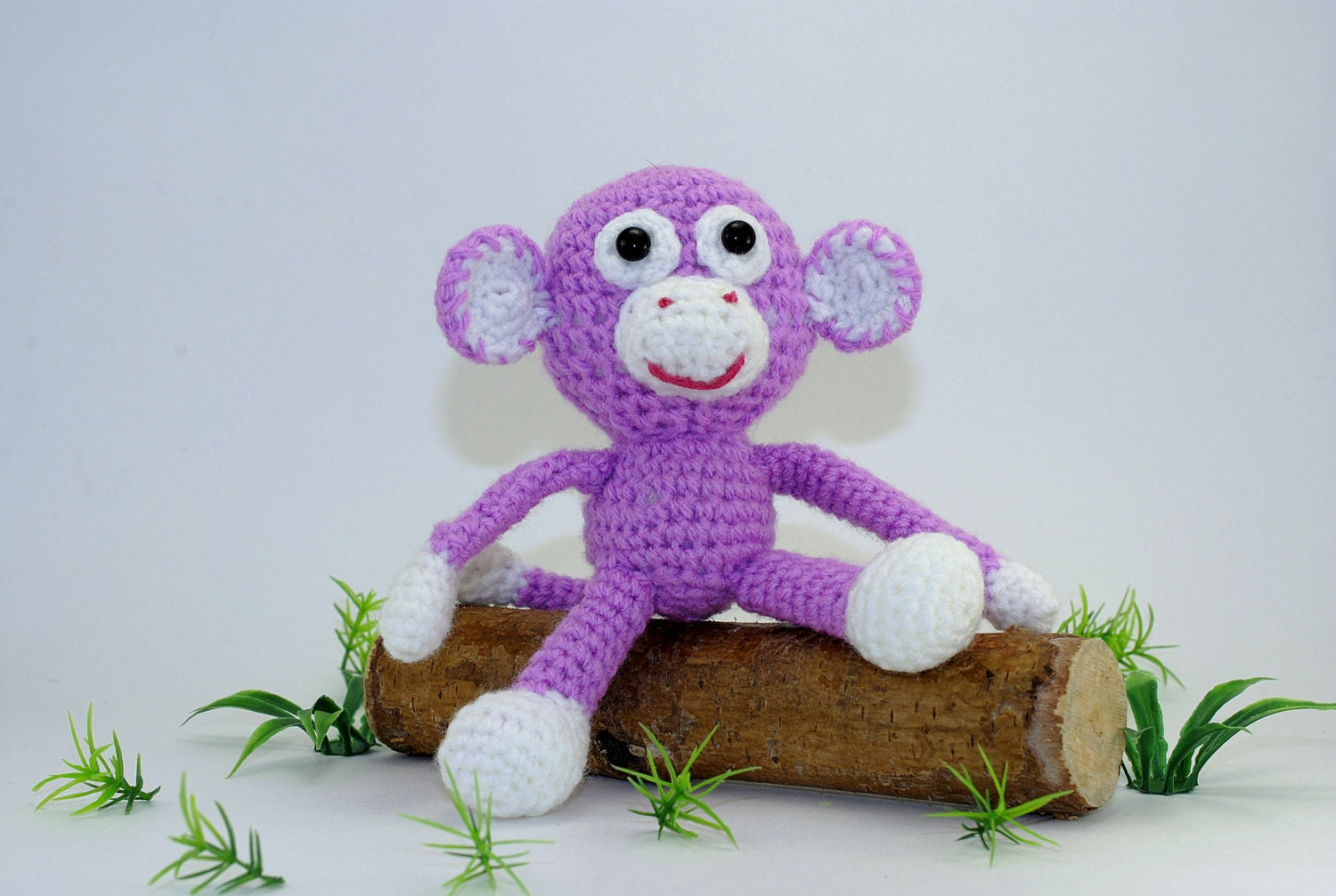Amigurumi Ugly Doll : Amigurumi Doll Soft Toy for Children Amigurumi Monkey