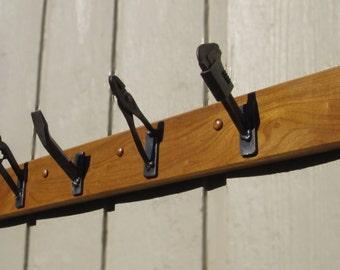 Coat Rack - Repurposed Handyman Tools