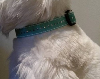 BLING! Adjustable polypropylene handmade DOG collars
