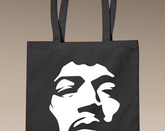 Jimi Hendrix Face - Tote Bag