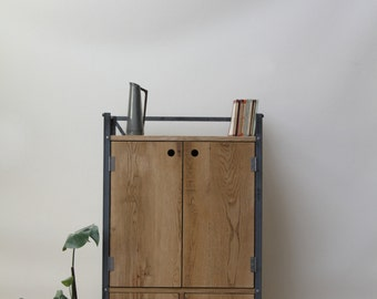 Industrial Style Buffet Cabinet, with Drawers