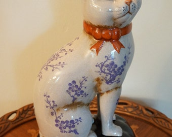 Staffordshire Style Cat
