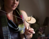 Drop Spindle Kit for spinning your own yarn