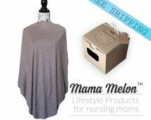 gold brown Nursing Poncho Breastfeeding Poncho Nursing Cover Mom to be gift nursing mom top Baby Shower Gift Pregnancy Clothes