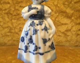 Blue & White Dutch Girl- Japan