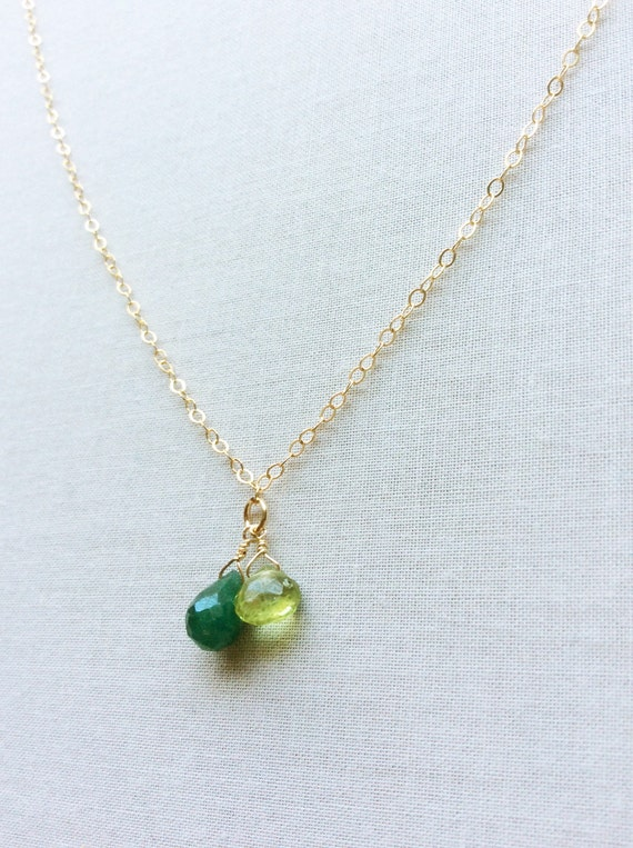 two birthstone necklace for mothers birthstone necklace