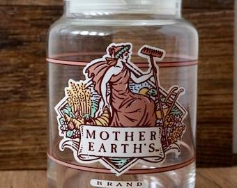mother earth's brand storage jar