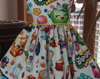Shopkins dress fits 18 inch dolls including American Girl Doll