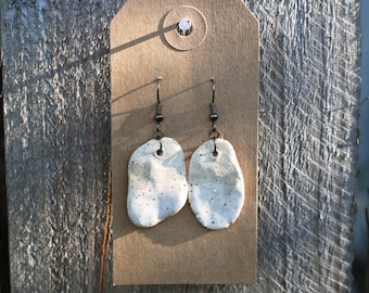 HandCrafted Freckled Earrings