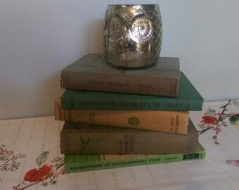 Lovely Set of 5 Vintage Books