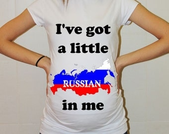 Pregnancy Shirt Gift Tunic Russia Funny Maternity Shirt Baby Announcement T Shirt Mother Gift Mom to Be