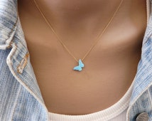 Butterfly necklace, Opal butterfly necklace, Butterfly jewelry, Delicate jewelry, Opal jewelry