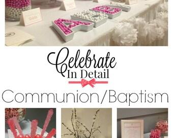 Communion/Baptism Party KIT