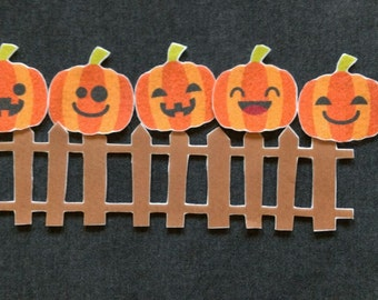 5 Little Pumpkins Felt Board Story // Flannel Board // Pretend Play // Quiet Time //  Storytime