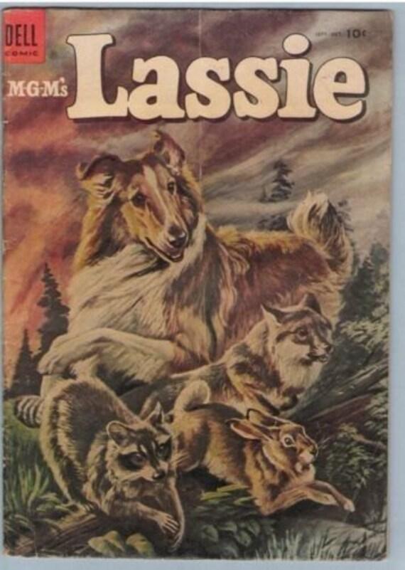 Lassie 18 Oct 1954 VG- (3.5)