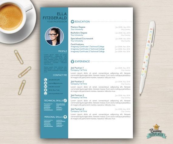 Plantilla De Curriculum Vitae Word CV Word A4 USA 2 Pag