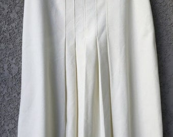 White Act III skirt