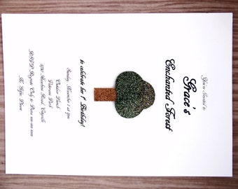 Enchanted Forest Invitation
