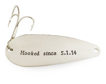 mens personalized, husband gift, anniversary gift, gift for men, gifts for him, fishing lure