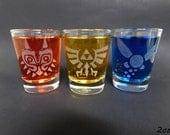 Masked Trio - Shot Glasses