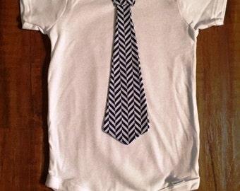 Custom Tie Onesie