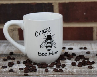 Costumized Beekeeper Coffee Mug