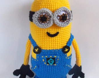 Minion Amigurumi. Crochet Minion. Made To Order.