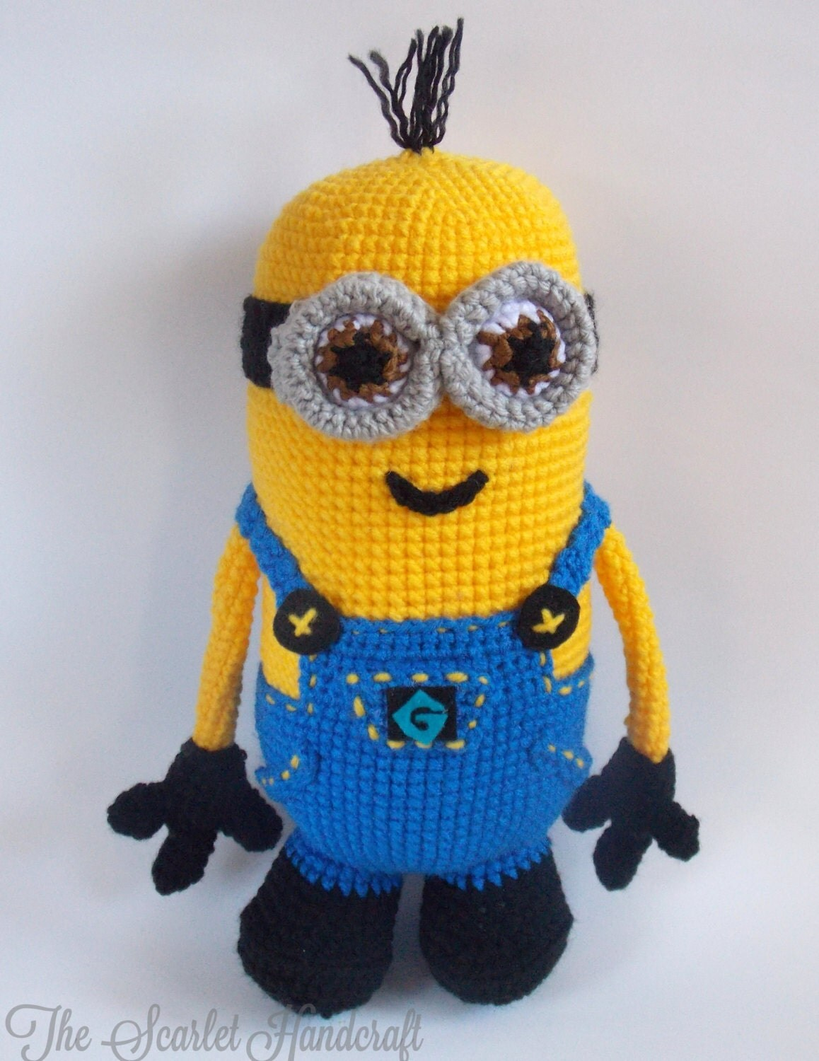 Amigurumi Minion Etsy : Minion Amigurumi. Crochet Minion. Made To Order.