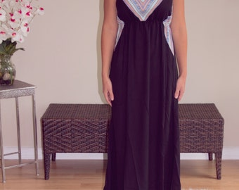 Midnight in Moscow Maxi Dress