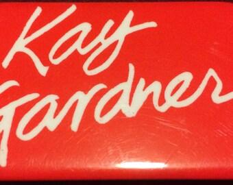 BUTTON: Canadian Politics - Kay Gardner (1985)