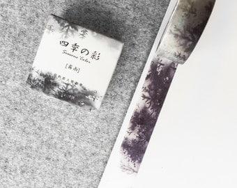 Cute washi tape - black forest | Cute Stationery