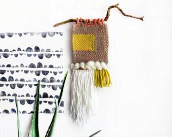 "hand-woven tapestry ""VogelHaus"""