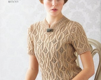Japanese Knitting Pattern_Knitted Top