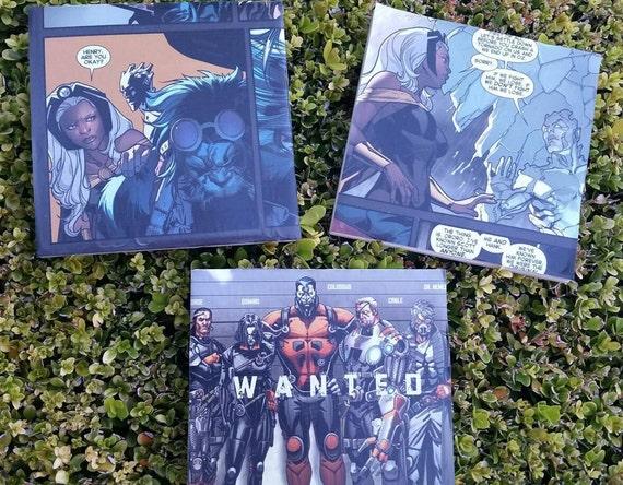 Items Similar To X Men Tile Wall Art Storm Xmen Beast