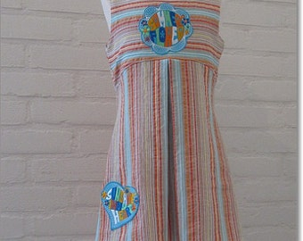 Toddler summer dress size 3T, cotton girl summerdress