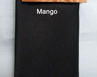 Mango Wood Tie Clip