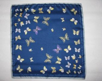 Vintage SCARF Cornelia James Butterflies spring is coming wildlife