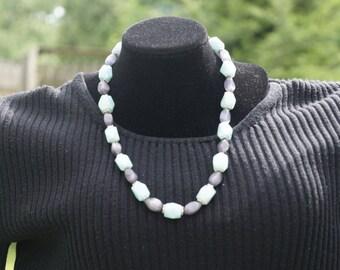 Blue Amazonite Necklace