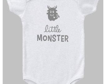 baby clothes, bodysuit, baby, onesie, baby onesie, funny bodysuits, funny onesies, cute baby, cute baby bodysuit, little monster