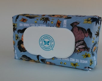 Where the Wild Things Are Print Baby Wipe Cover for Honest Wipes