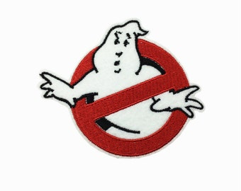 Ghost Busters halloween patch Ghostbusters movie role cute funny Embroidery patches patch Embroidered patch iron on patch sew on patch A137